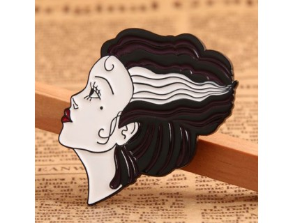 Profile Portrait Custom Lapel Pins