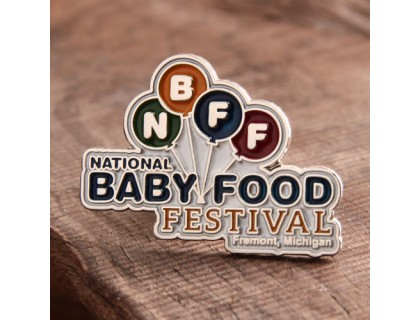 Food Festival Custom Lapel Pins