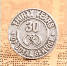 Loyal Service Custom Lapel Pins