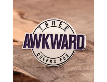 Awkward Custom Lapel Pins