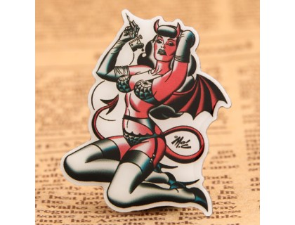 Demon Girl Custom Lapel Pins