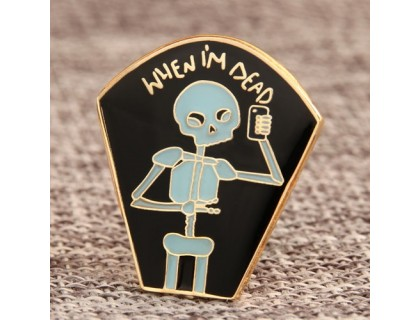 Skeleton Custom Lapel Pins