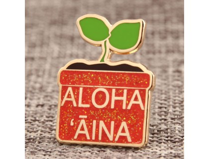 Potted Plant Custom Lapel Pins
