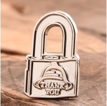 Lock Custom Lapel Pins
