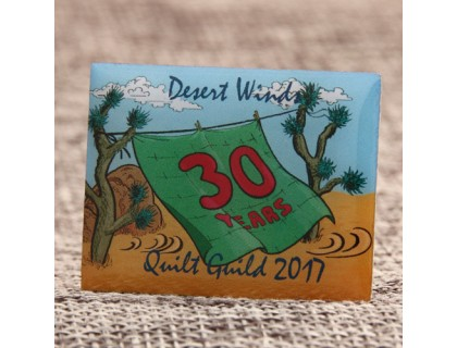 Quilt Guild Custom Lapel Pins