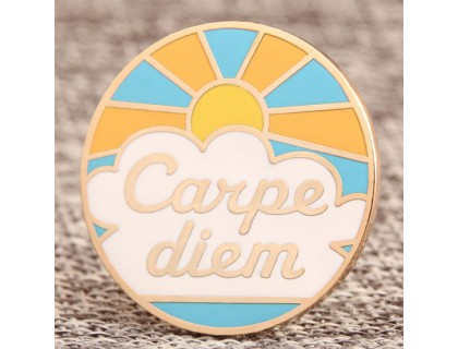 Carpe Diem Custom Lapel Pins