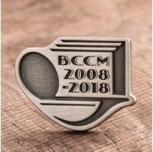 BCCM Custom Lapel Pins