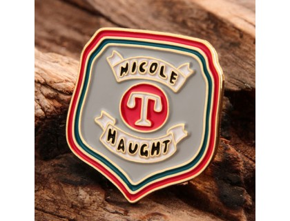 Nicole Haught Custom Lapel Pins