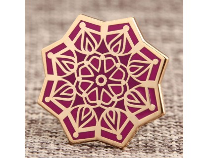 Mandala Custom Lapel Pins