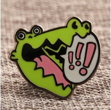 Custom Crocodile Lapel Pins