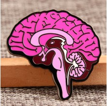 Brain Custom Lapel Pins