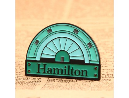 Hamilton Custom Lapel Pins